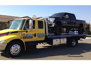Modesto towing company Arrahien Towing Service