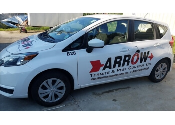 Baton Rouge pest control company Arrow Termite and Pest Control Co.
