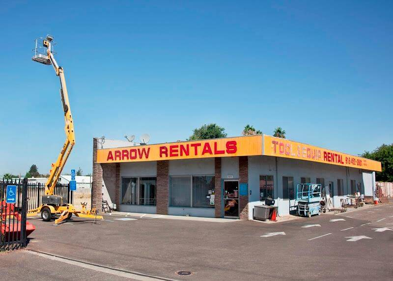Sacramento event rental company Arrow rentals