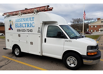 Worcester electrician Arsenault Electric