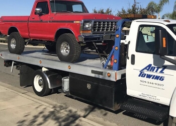 Rancho Cucamonga towing company ArtZ Towing