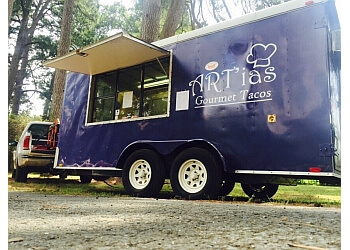 Shreveport food truck Art'ias Gourmet Tacos