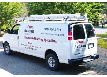 Cary roofing contractor Artisan Quality Builders