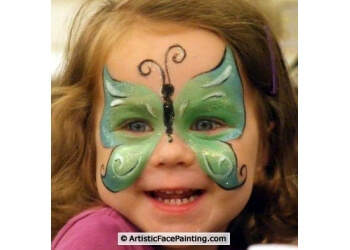 Joliet face painting Artistic Face Painting