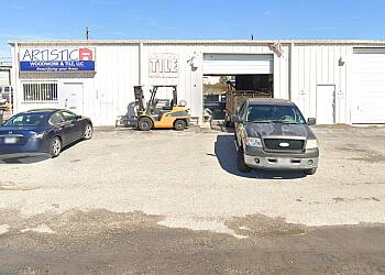Corpus Christi custom cabinet Artistic Woodwork & Tile, LLC