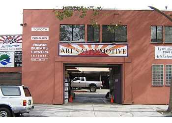 Berkeley car repair shop Art's Automotive