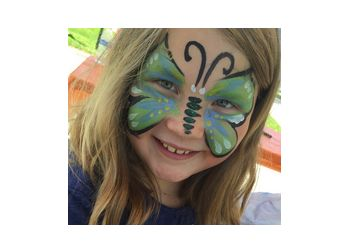 Aurora face painting Artsy Events