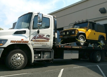 Alexandria towing company A's AFFORDABLE TOWING AND ROADSIDE SERVICE