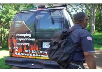 Nashville chimney sweep Ash Busters Chimney Service Inc.