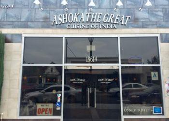 Downey indian restaurant Ashoka The Great