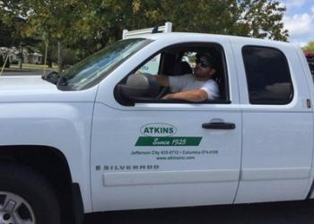 Columbia pest control company Atkins