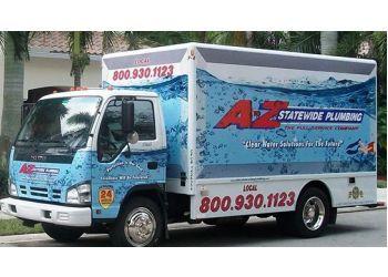 Miramar plumber A to Z Statewide Plumbing Inc.