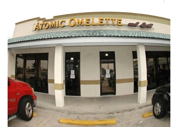 Corpus Christi american restaurant Atomic Omelette and Grill