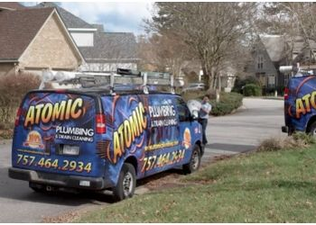 Virginia Beach plumber Atomic Plumbing & Drain Cleaning