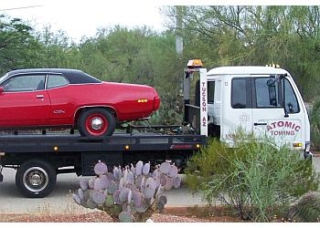 Tucson towing company Atomic Towing