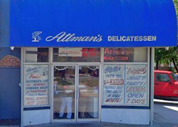 Baltimore sandwich shop Attman's Delicatessen