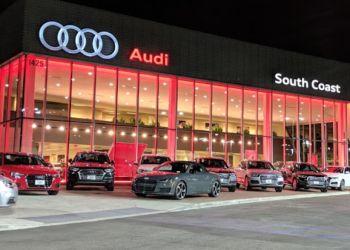 Santa Ana car dealership Audi South Coast