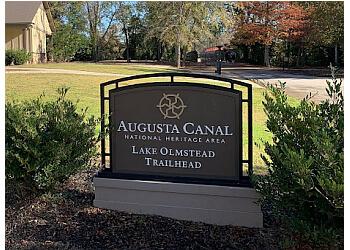 Augusta hiking trail Augusta Canal Trail