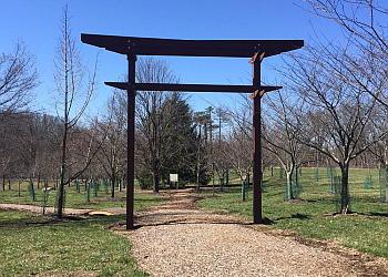 Cincinnati hiking trail Ault Park Trail