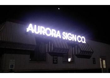 Aurora sign company Aurora Sign Co.