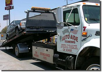 Corona towing company Auto Aide