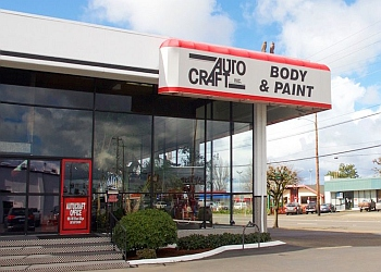 Eugene auto body shop Auto Craft Inc.