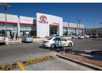 Las Vegas car dealership AutoNation Toyota Las Vegas