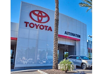 Tempe car dealership AUTONATION TOYOTA TEMPE