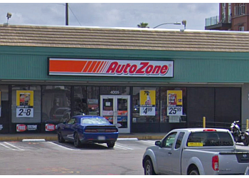 San Diego auto parts store AutoZone
