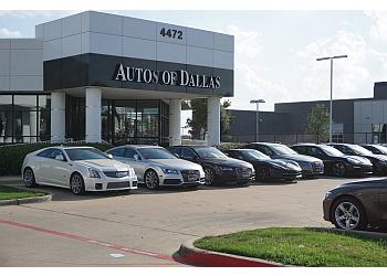 Plano used car dealer Autos of Dallas