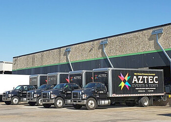 Houston event rental company Aztec Events & Tents