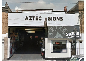 Philadelphia sign company Aztec Signs & Graphics