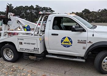 San Francisco towing company B & A Towing