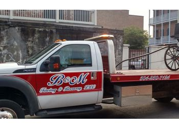 New Orleans towing company B And M Towing And Recovery