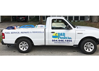 Pompano Beach pool service B & B Pools Inc.