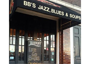 St Louis night club BB's Jazz, Blues and Soups