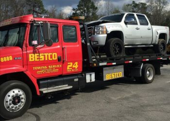 Fayetteville towing company BESTCO TOWING SERVICES