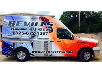 Abilene plumber Bevills Plumbing Heating & Air Conditioning