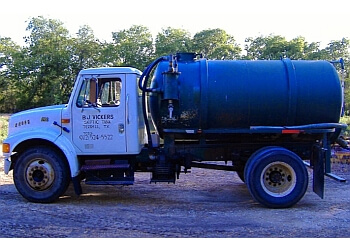 Dallas septic tank service B J Vickers