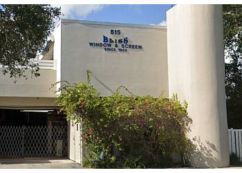 Fort Lauderdale window company BLISS Window & Screen, Inc.