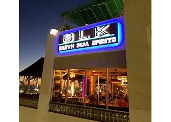 Huntington Beach steak house BLK Earth Sea Spirits