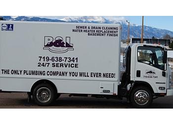 Colorado Springs plumber B & L Plumbing, Inc.