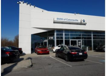 Baltimore car dealership BMW of Catonsville