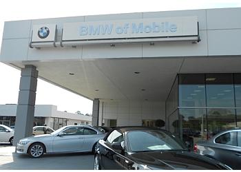 Mobile car dealership BMW OF MOBILE