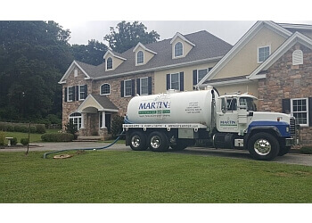 Philadelphia septic tank service B Martin Wastewater Services LLC