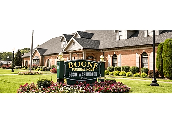 Evansville funeral home BOONE FUNERAL HOME
