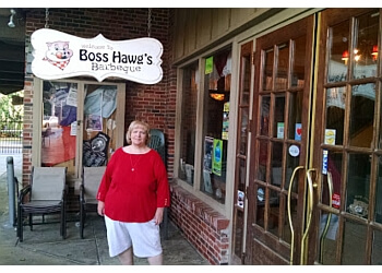 Topeka barbecue restaurant BOSS HAWGS' BARBEQUE & CATERING