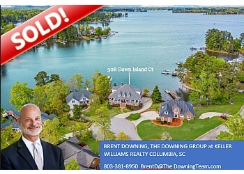 Columbia real estate agent BRENT DOWNING