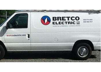 Winston Salem electrician Bretco Electric Company Inc.