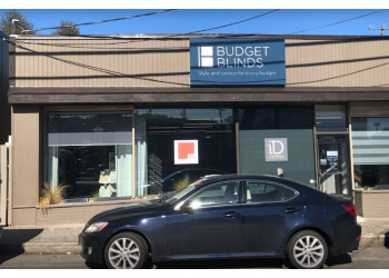 Seattle window treatment store BUDGET BLINDS
